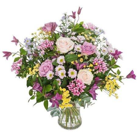 """Bukiet """"Kwiatowe życzenia"""""""